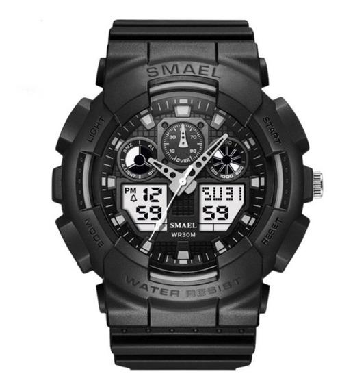 Relógio Smael 1027 Esportivo Estilo Gshock Prova D