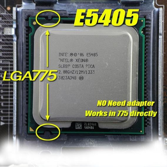 Processador 775 Intel Core 2 Quad Q8200 = Xeon E5405 2,0ghtz