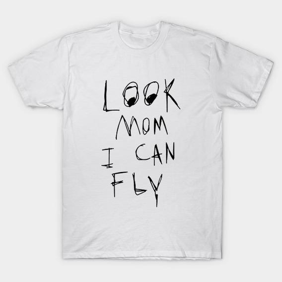 Playera Travis Scott Astroworld Look Mom I Can Fly
