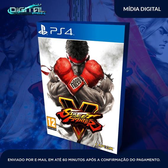 Street Fighter V Ps4 Psn Jogo Envio Rapido! Original