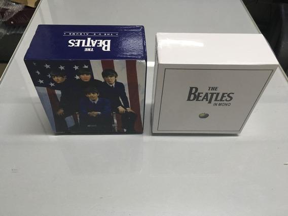 Kit Beatles Mono Box Set + Box Us Albuns.
