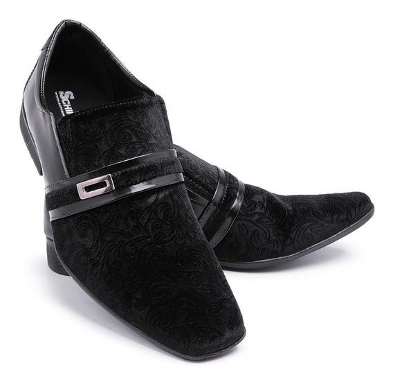 Sapato Social Masculino Moderno Verniz Casamento Luxo 108