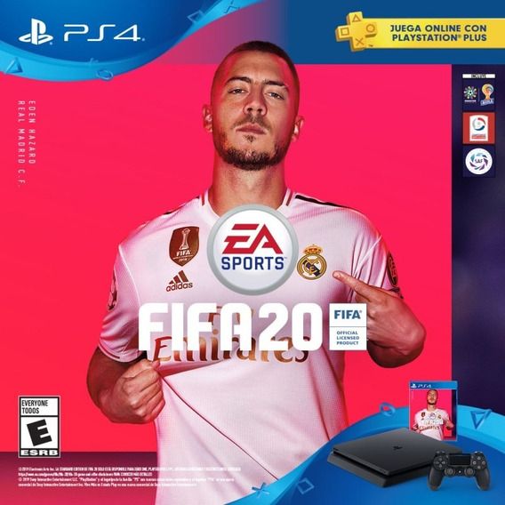 Ps4 1tb Cuh-2215b + Fifa 20ystation