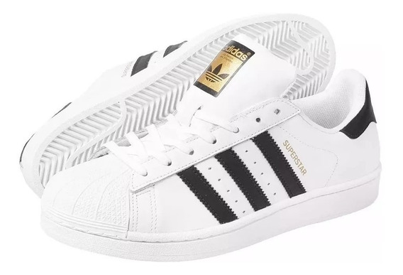Tenis adidas Superstar Branco - Original