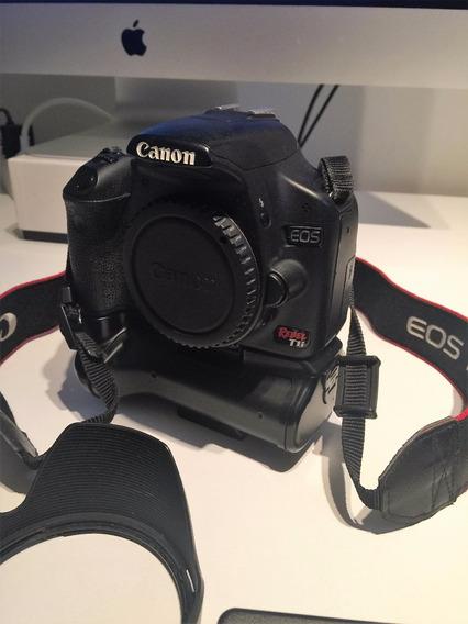 Kit Camera Canon T1i 15mp, 18-55, 50,18-200mm, Flash, Tripe