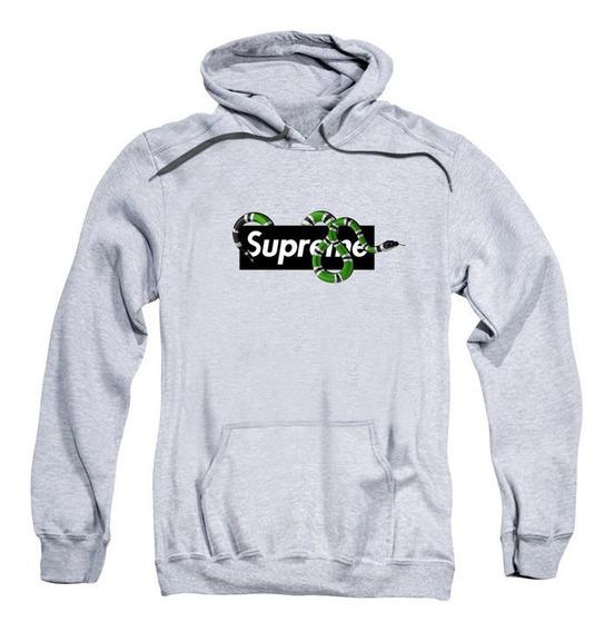 Moletom Swag Masculino Supreme X Gucci Cobra Swag