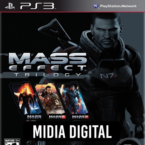 Mass Effect Trilogy - Ps3 Psn*