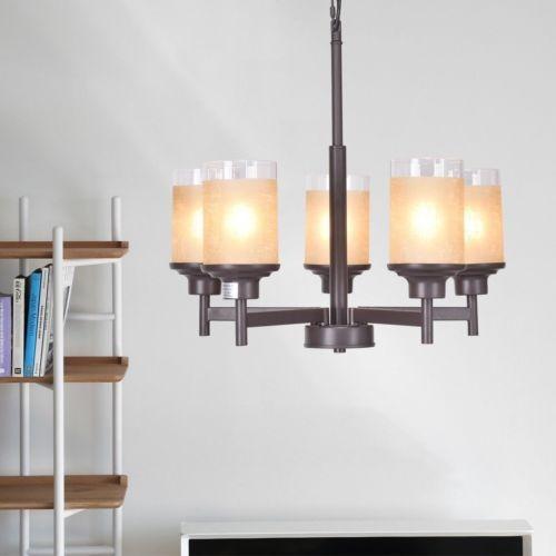 Moderno Elegante 5-luz De Lámpara Colgante Techo Comedor
