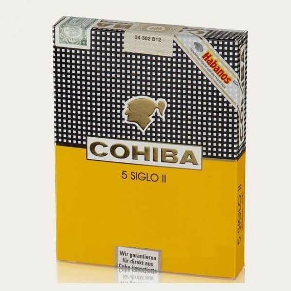 Habanos - Cohiba Siglo Il X 5 - Cigarros