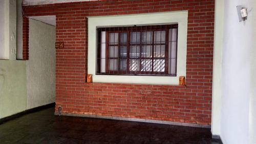 Imagem 1 de 18 de Sobrado À Venda, 3 Quartos, 1 Suíte, 2 Vagas, Eldízia - Santo André/sp - 45648