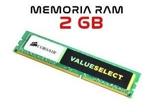 Memória Desktop Corsair 2gb 1333d3 + Frete Grátis