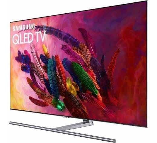 Tv Samsung Qled 55 4k Ultra Hd Q7fn - Como Nova