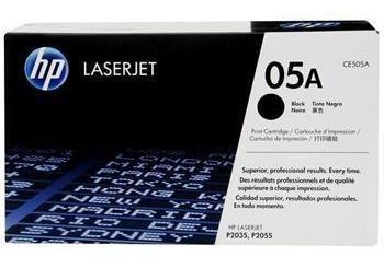 Cartucho De Toner Hp 05a Preto Laserjet - Ce505ab