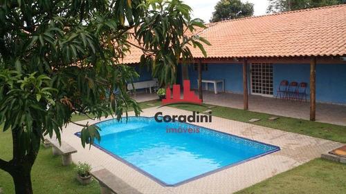 Chácara Com 1 Dormitório À Venda, 423 M² Por R$ 220.000,00 - Tupi - Piracicaba/sp - Ch0113