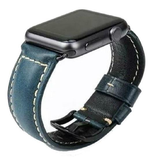 Apple Watch Pulseiras Em Couro Tamanho 42 E 44mm