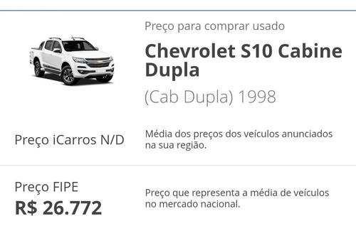 Imagem 1 de 6 de Chevrolet S10 Deluxe Cabine Dupla