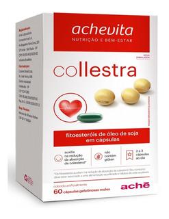Collestra 60 Cápsulas Colesterol Ruim Ldl Triglicérides Novo