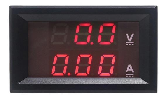 Voltímetro E Amperímetro Digital Vdc 100v X 10a - Cod.07
