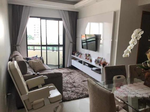 Apartamento Sbc Rudge Ramos, 61 M2, 2 Vagas.