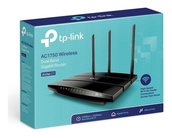 Router Archer C7 Ac1750 Dual Band Gigabit Usb Wi Fi