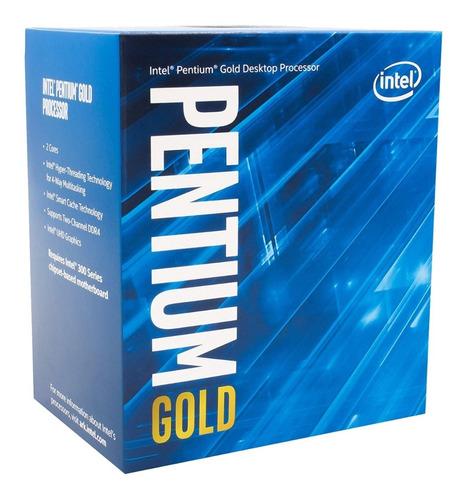 Imagen 1 de 6 de Procesador Intel Pentium Gold G5420 3.8ghz S1151 8va