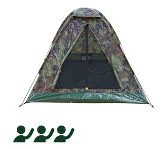 Barraca Iglu Kongo Para Camping 3 Pessoas Nautika