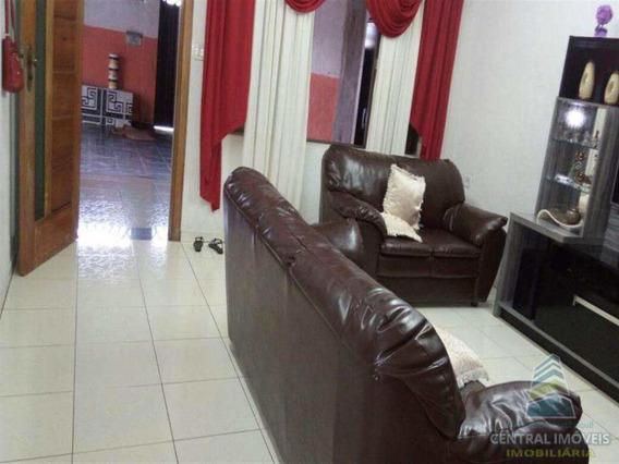 Casa Com 2 Dorms, Vila Margarida, São Vicente - R$ 400 Mil, Cod: 4124 - V4124