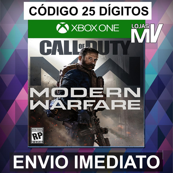 Call Of Duty Modern Warfare Xbox One Codigo 25 Digitos