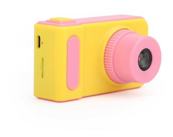 Câmera Kids Digital Fotografica Criança Selfie Foto Promoção