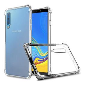 Capa Anti Shock E Pelicula De Vidro Samsung A7 2018 -sm-a750
