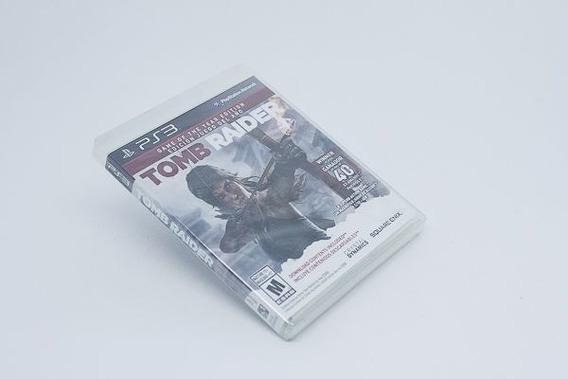 Jogo Ps3 - Tomb Raider - Square Enix