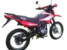 Moto Galardi Gl200tt Año 2018 200cc Color Negro-rojo-plata