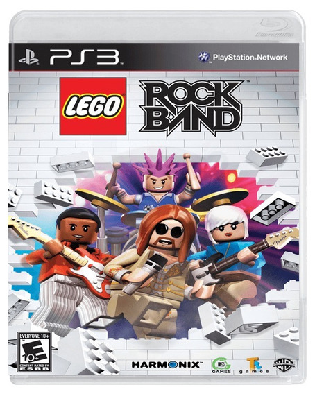Lego Rock Band Ps3 Original Completo Mídia Física