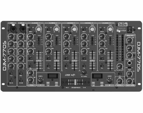 Mixer Super Dj Napoli Djm-770s 5 Canais