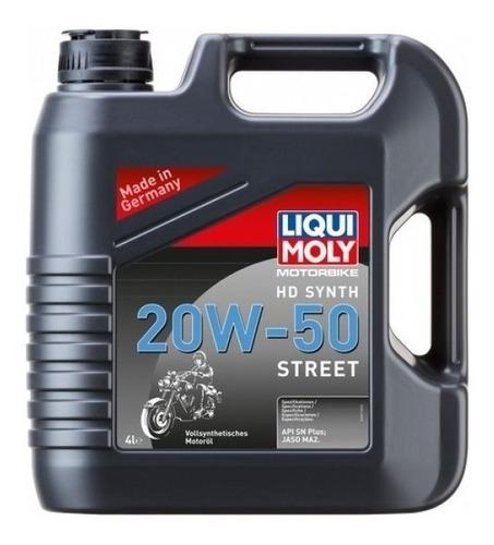 Liqui Moly Aceite Sintetico Moto 20w50 Street 4l