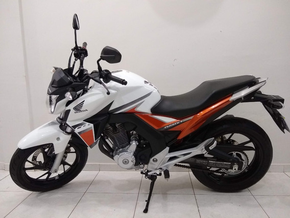 Honda Twister 250 Flexone 2017 Branca