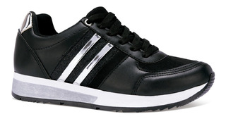 Neosport Tenis Sneakers Casuales Rayas Textura Moda 6690931