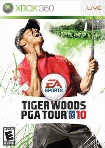 Tiger Woods Pga Tour 10 Xbox 360 Original Frete R$15