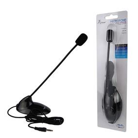 Microfone De Mesa Pedestal Knup Kp-903 Pc Notebook