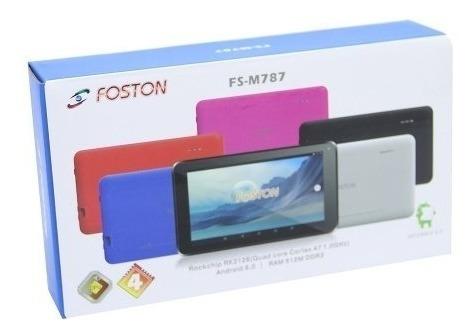 Tablet Foston 7¨ Android 4.2 8gb Memória Interna E Dual Core