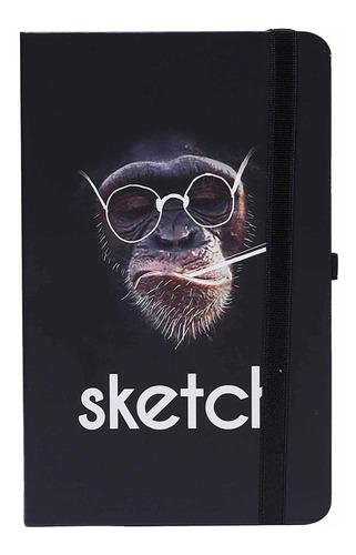 Imagen 1 de 5 de Cuaderno Sketchbook Alpen 21x12cm X80 Hojas Blancas