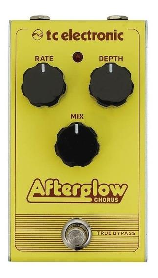 Pedal P/ Guitarra Afterglow Chorus - Tc Electronic +nf - Com Nota Fiscal E Garantia De 2 Anos Proshows!