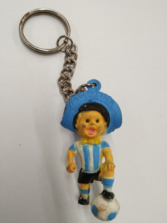Antigo Chaveiro Gauchito Copa Mundo Argentina 1978