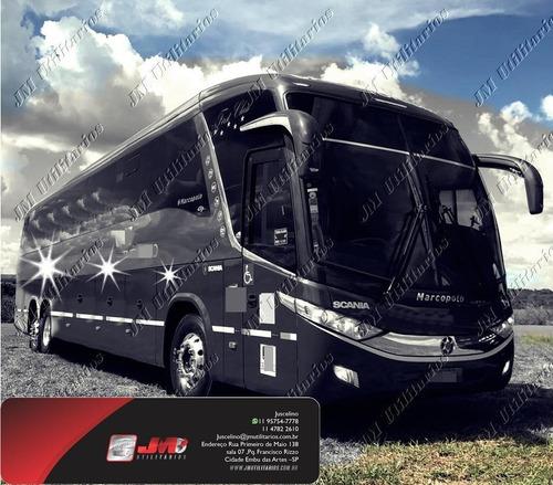 Paradiso 1200 G7 Ano 2013 Scania K360 46 Lug Jm Cod.454