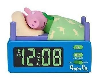 Reloj Despertador George Peppa Pig Alarm Clock