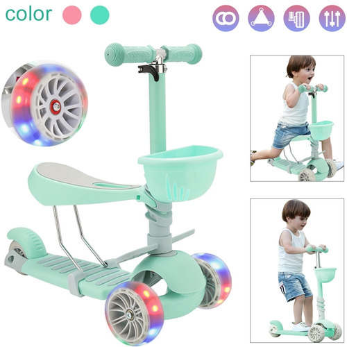 Scooter De Tres Ruedas Para Niños.