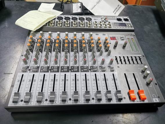 Mesa De Som Soundcraft Sx 1202 Fx Usb Nota Fiscal Do Mês 02