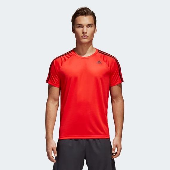 Playera adidas D2m 3 Franjas 100% Original