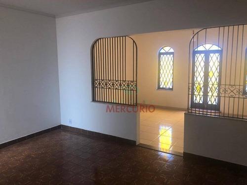 Imagem 1 de 26 de Casa À Venda, 320 M² Por R$ 850.000,00 - Vila Cidade Universitária - Bauru/sp - Ca3364