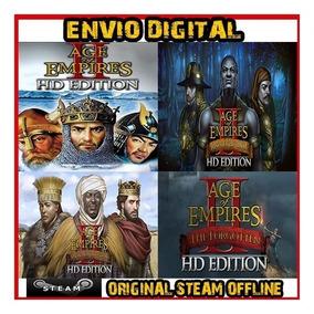 Age Of Empires 2 Hd + Expansão - Original Steam Offline